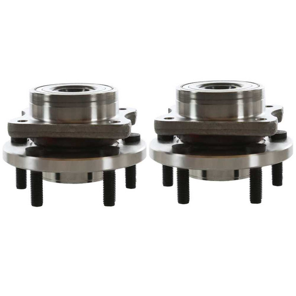 Pair 2 Front Wheel Hub Bearing Assembly 5 Stud for 2001-2007 Dodge Caravan FWD - Part # HB613125PR