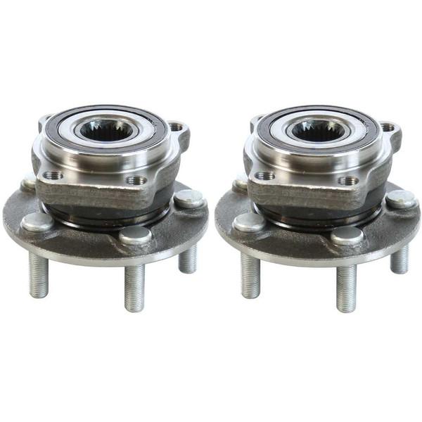 [Front Set] 2 Wheel Hub Bearing Assemblies - Part # HB613305PR