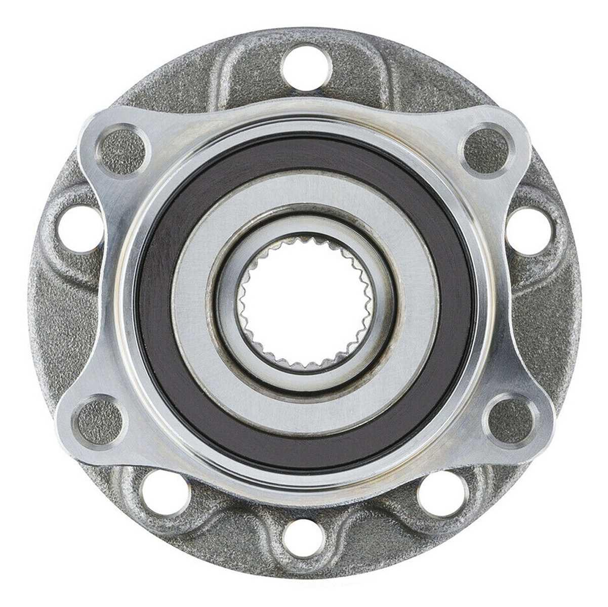 AutoShack HB615075PR Front Wheel Hub Bearing Assembly Pair 2 Pieces Fits Driver and Passenger Side
