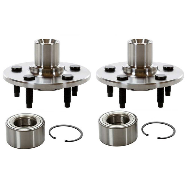 2 New Rear Wheel Hub Bearing Repair Kits Pair/Set - Part # HB621002PR