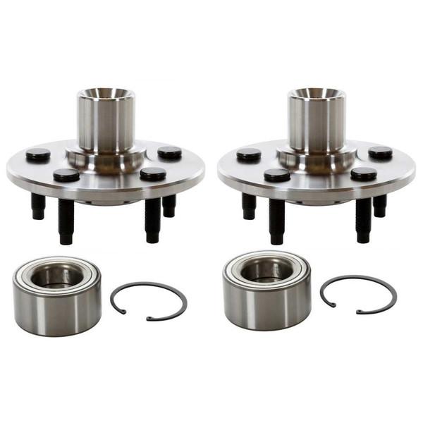 2 New Rear Wheel Hub Bearing Repair Kits Pair/Set - Part # HB621002PR