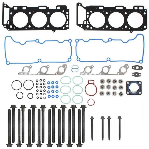 Full Engine Head Gasket and Bolts Package for V6-245 4.0L 4.4L SOHC - Part # HGPKG0093