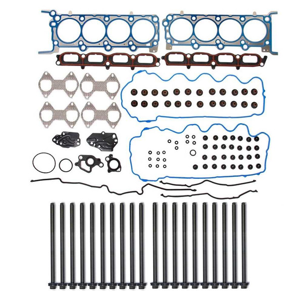 Full Engine Head Gasket and Bolts Package for V8-330 5.4L SOHC - Part # HGPKG0094