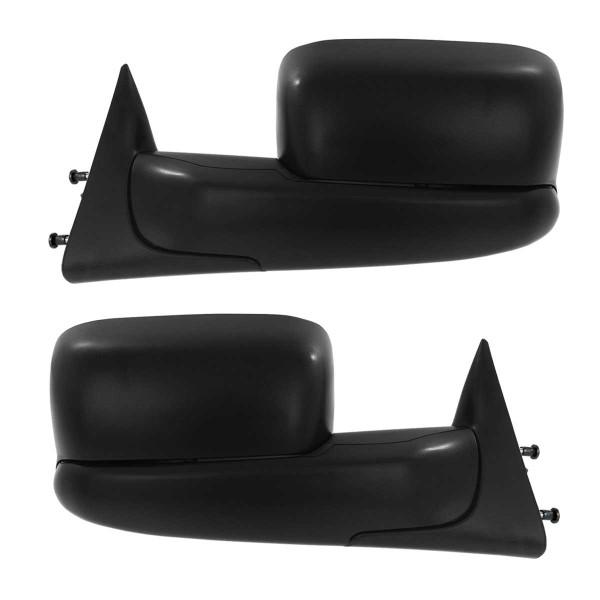 Manual Towing Side View Mirror Pair - Part # KAPCH1320258PR