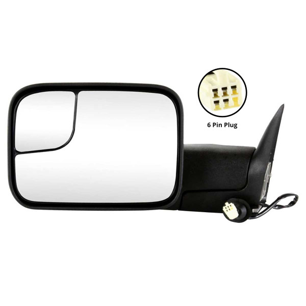 Power Side View Mirror Heated - Part # KAPCH1320307