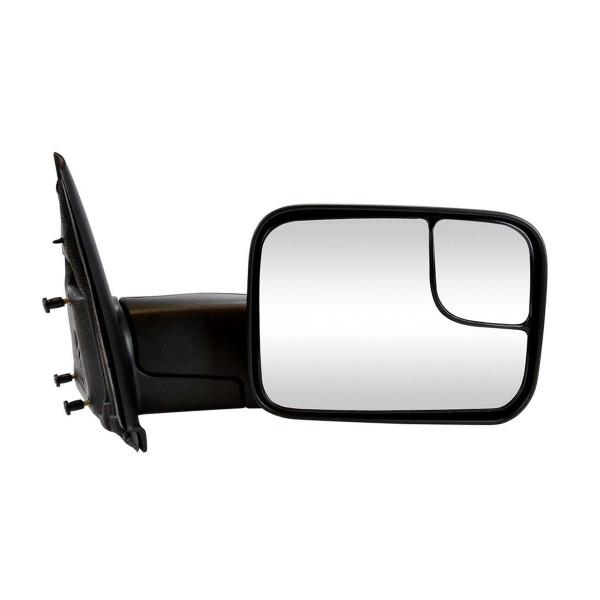 Passenger Right Manual Towing Side View Mirror - Part # KAPCH1321227