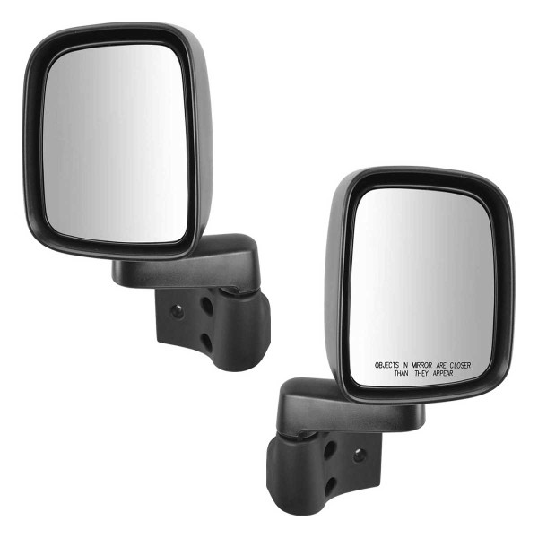 Manual Side View Mirror Pair - Part # KAPCH1321234PR