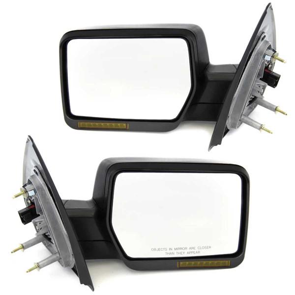 Power Heated Signal Side View Mirror Pair - Part # KAPFO1320242PR