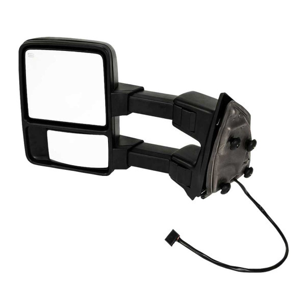 Driver Left Power Heated Towing Signal Side View Mirror - Part # KAPFO1320268SS