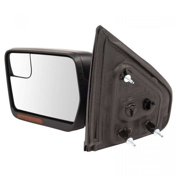 Driver Left Power Heated Signal Puddle Lamp Side View Mirror - Part # KAPFO1320413