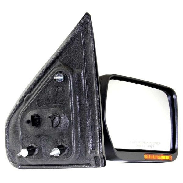Passenger Right Power Heated LED Signal Puddle Lamp Side View Mirror - Part # KAPFO1321349