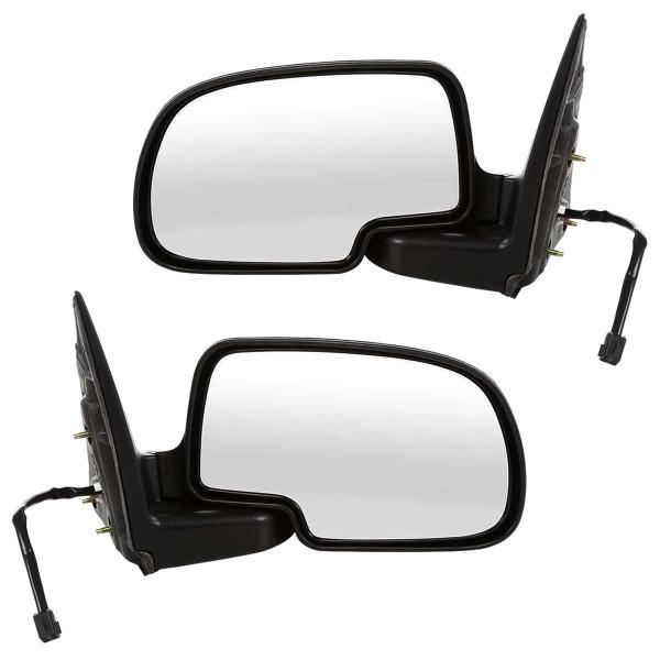 Power Chrome Side View Mirror Pair - Part # KAPGM1320174PR