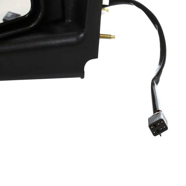 Driver Left Power Heated Puddle Lamp Side View Mirror 8 Hole 6 Prong Connector - Part # KAPGM1320252