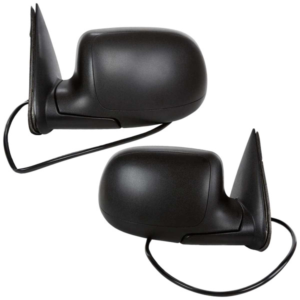 Power Heated Side View Mirror Pair 10 Hole 4 Prong And 10 Hole 1 Prong Dual Connectors - Part # KAPGM1320293PR