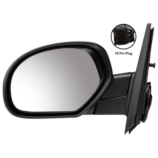 Driver Left Power Heated Side View Mirror - Part # KAPGM1320325