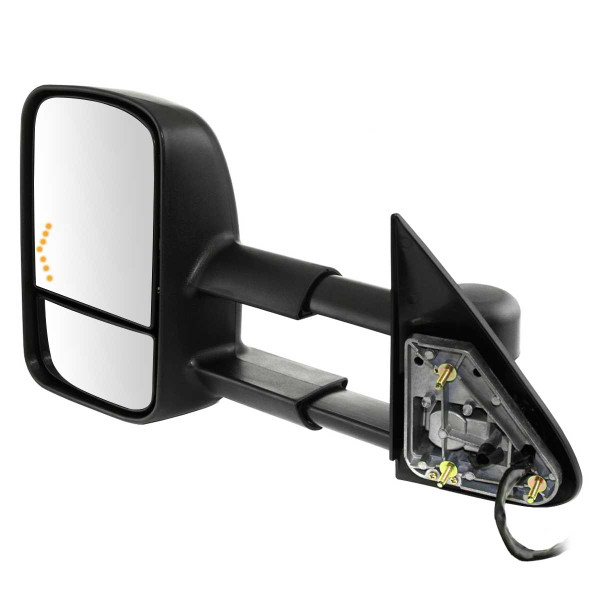 Driver Left Power Heated Towing LED Signal Side View Mirror - Part # KAPGM1320355