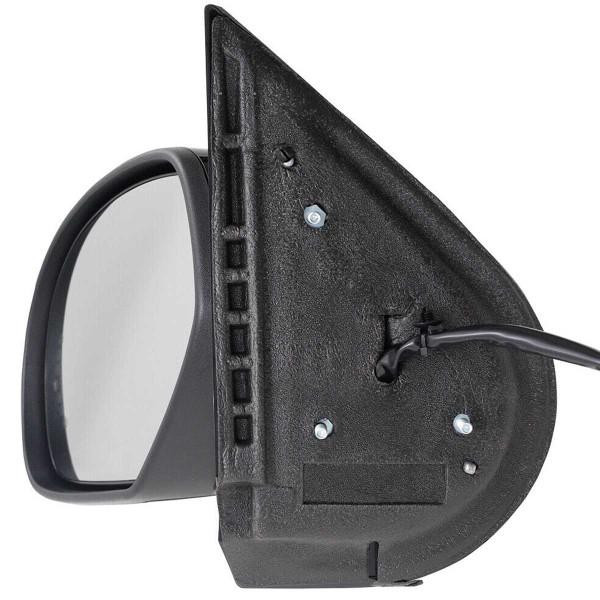 Driver Left Black Power Heated Power Folding Side View Mirror - Part # KAPGM1320377