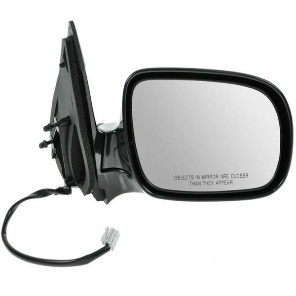 Black Power Heated Passenger Right Folding Side Mirror for 05-09 Chevy Uplander - Part # KAPGM1321242