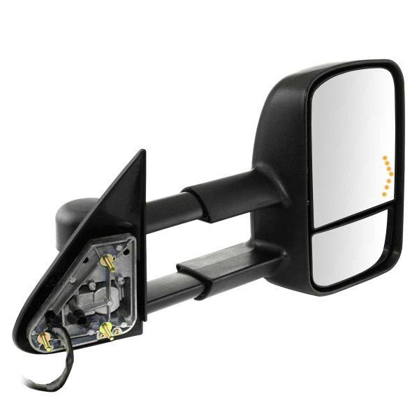Passenger Right Power Heated Towing LED Signal Side View Mirror - Part # KAPGM1321355