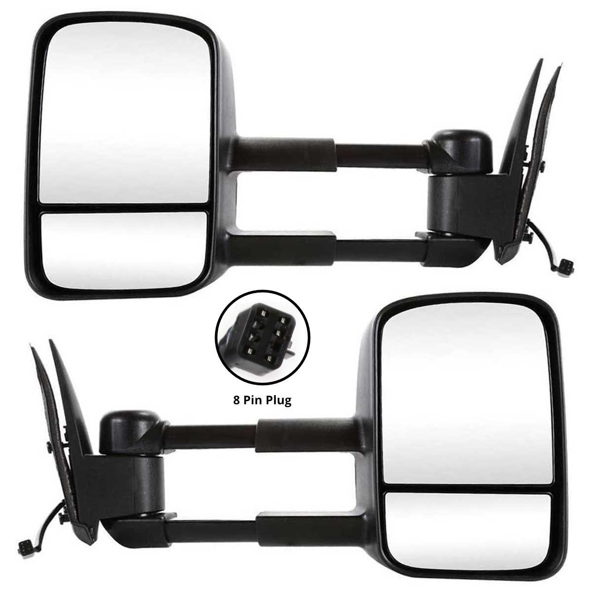 AutoShack KAPFO1321266 Power Heated Passengers Side Mirror