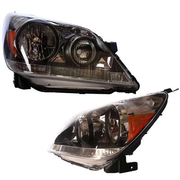 New 05-07 Odyssey Headlight Headlamp Pair Set - Part # KAPHD10096A1PR