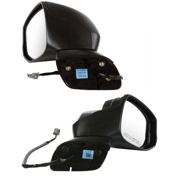 Pair Power Side Mirrors for 2012-2013 Honda Civic LX EX GX DX HF EX-L Touring - Part # KAPHO1320261PR