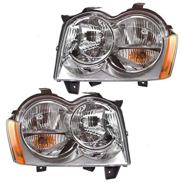 [Set] Headlights Headlamps FrontSet - Part # KAPJP10084A1PR