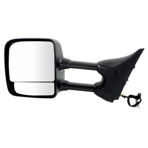 Driver Left Power Towing Chrome Side View Mirror 16 Hole 9 Prong Connector - Part # KAPNI1320204