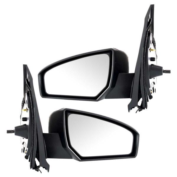 Manual Side View Mirror Pair - Part # KAPNI1321166PR