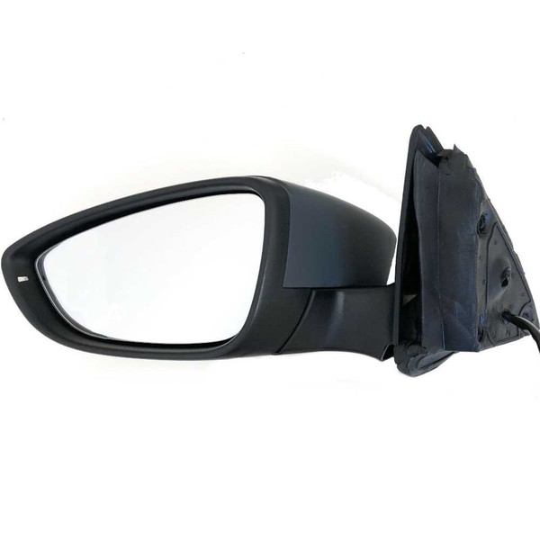 Power Heated Signal Driver Left View Mirror for 2011-2013 Volkswagen Jetta - Part # KAPVW1320146