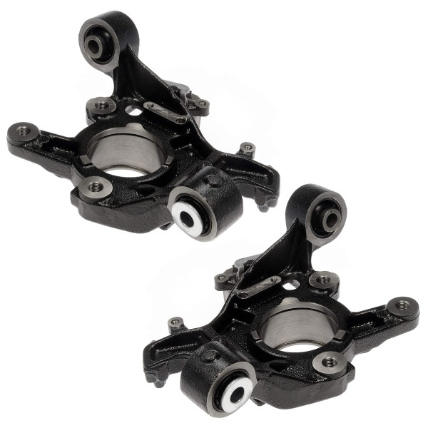 Pair 2 Rear Steering Knuckle Set for 2006-2010 Ford Explorer Mercury Mountaineer - Part # KN798140PR