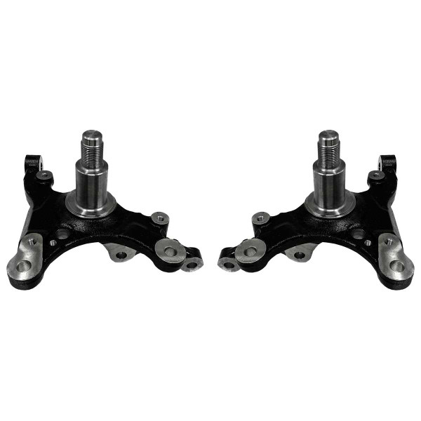 Pair 2 Front Steering Knuckle Spindle Set for 2005-2009 Ford Mustang - Part # KN798226PR