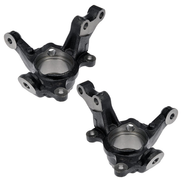 Pair 2 Front Steering Knuckle Set for 2003-2008 Toyota Matrix FWD 4 Wheel ABS - Part # KN798234PR