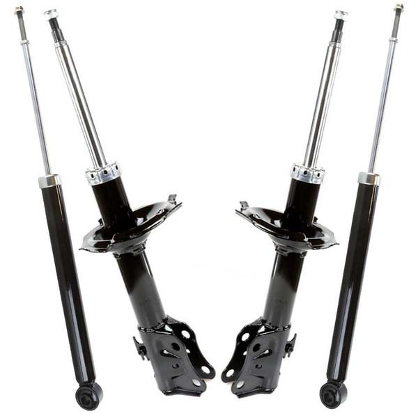[Front & Rear Set] 2 Front Bare Strut Assemblies & 2 Rear Shock Absorbers - Part # KS603-ST748