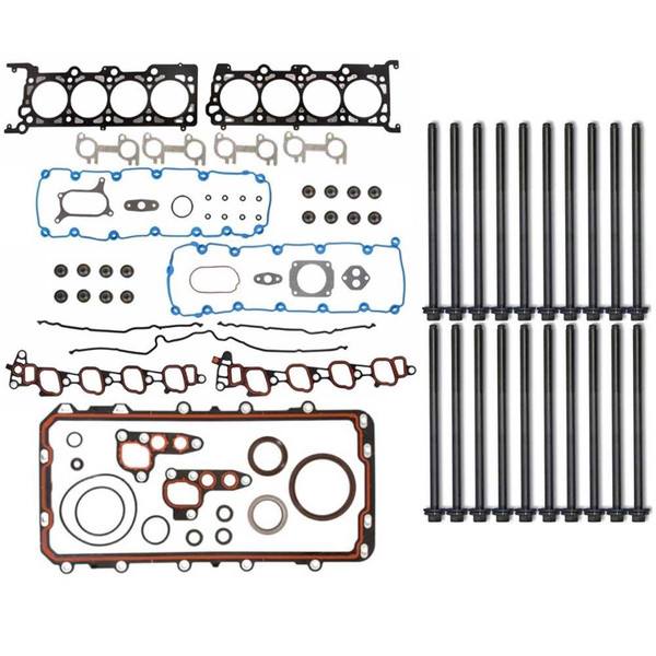 Full Engine Head Gasket and Bolts Package for V8-330 5.4L SOHC - Part # MGPKG0080
