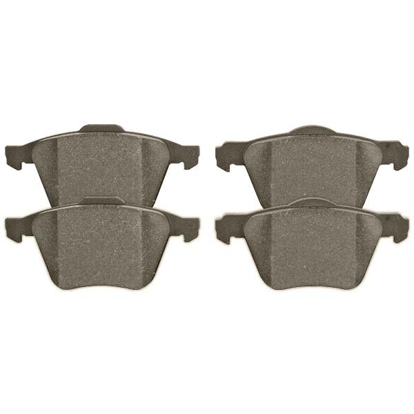 Front Performance Ceramic Brake Pad Set - Part # PCD1003