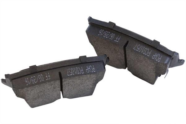 [Rear Set] 2 Brake Rotors & 1 Set Performance Ceramic Brake Pads - Part # PCD1057-R63026