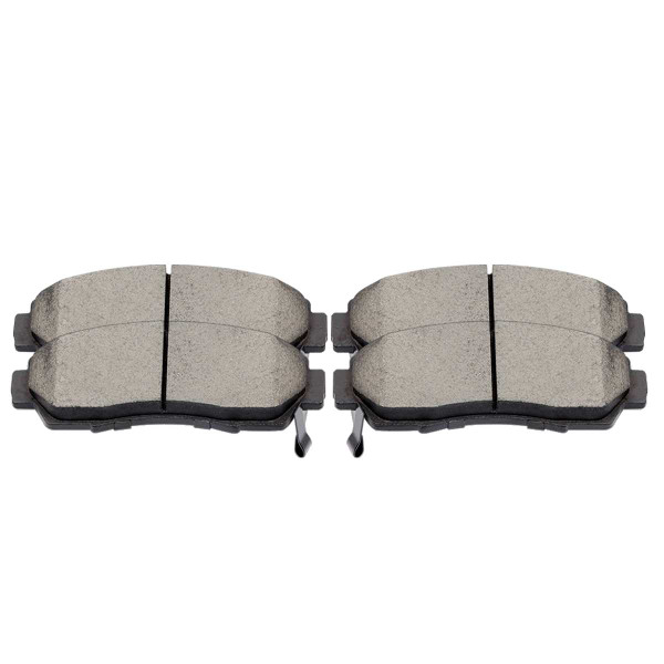 Front Performance Ceramic Brake Pad Set - Part # PCD1089