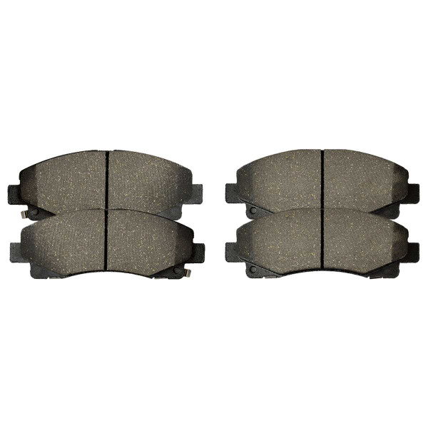 Front Performance Ceramic Brake Pad Set - Part # PCD1102