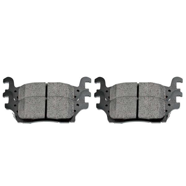 Rear Performance Ceramic Brake Pad Set - Part # PCD1120