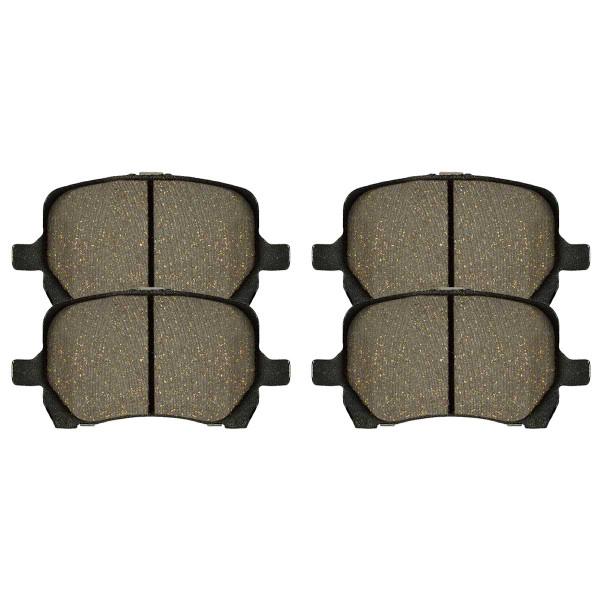 Front Performance Ceramic Brake Pad Set - Part # PCD1160