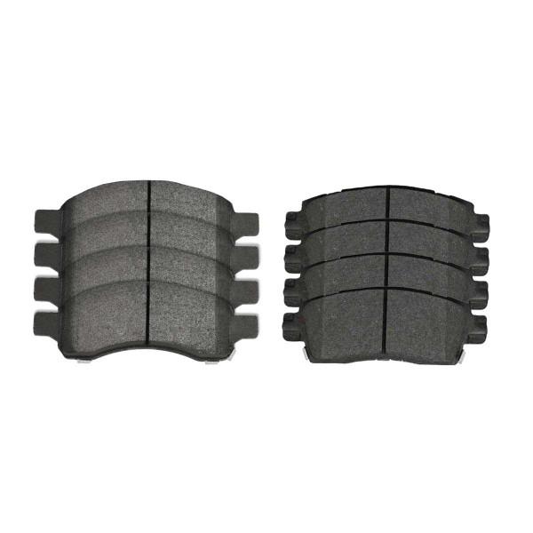 Front and Rear Performance Ceramic Brake Pad Bundle - Part # PCD1169-883