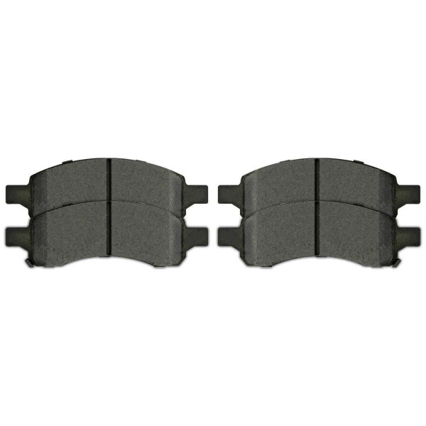 Front Performance Ceramic Brake Pad Set - Part # PCD1169