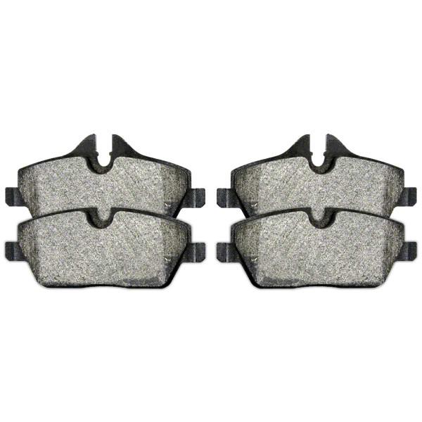 Front Performance Ceramic Brake Pad Set - Part # PCD1308