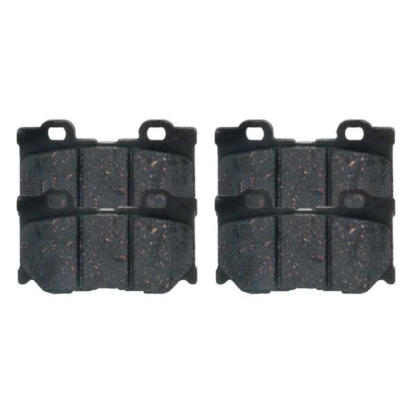 Rear Performance Ceramic Brake Pad Set - Part # PCD1347