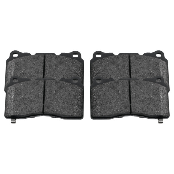 Front Performance Ceramic Brake Pad Set - Part # PCD1405
