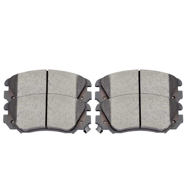Front Performance Ceramic Brake Pad Set - Part # PCD1421