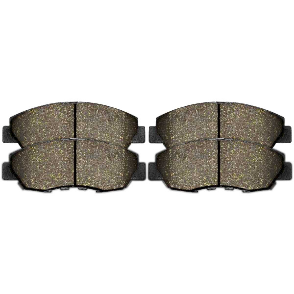 Front Performance Ceramic Brake Pad Set - Part # PCD465A