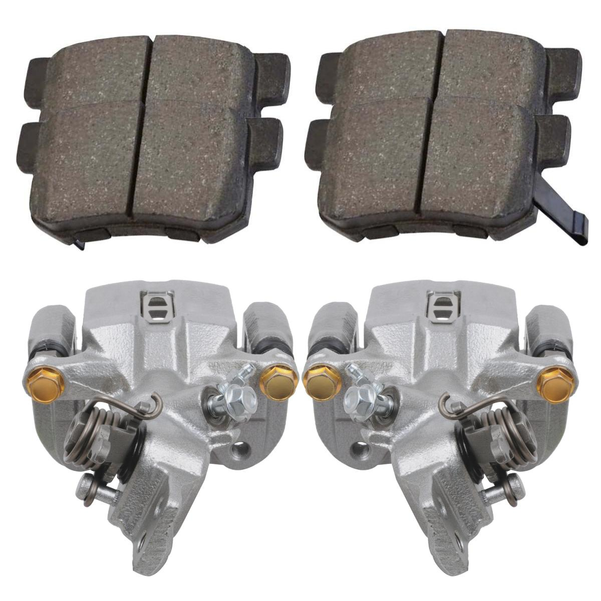 PCD537 REAR Premium Ceramic Brake Pads Fits 2004-2008 Acura TSX