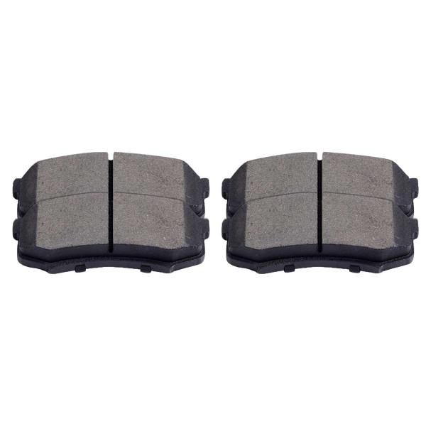 Rear Performance Ceramic Brake Pad Set 4 Wheel Disc - Part # PCD606